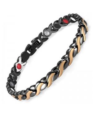 Bracelet magnétique et bio-éléments - MILA