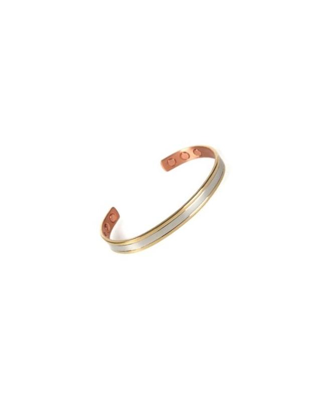 Bracelet magnétique cuivre - Muscari avec aimants thérapeutiques Néodyme