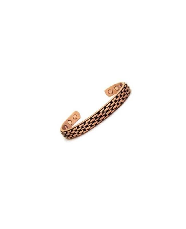 Bracelet magnétique cuivre pour un meilleur confort articulaire - Yucca