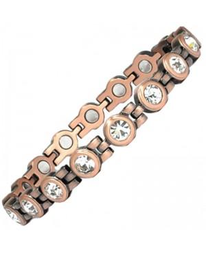 Bracelet en cuivre magnétique 16 aimants style Mauresque