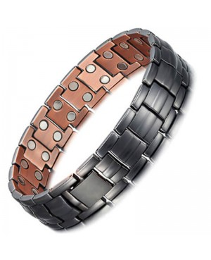 Bracelet magnétique cuivre puissant 46 aimants pour homme et femme - Aleph