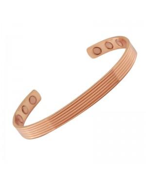 Bracelet magnétique avec aimants Néodime en pur cuivre aux vertus antidouleurs- Jable