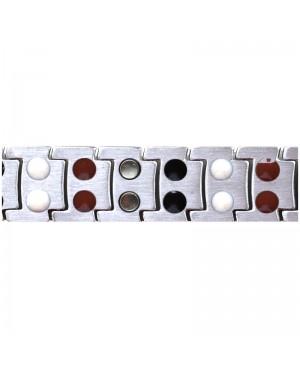 Bracelet magnétique titane Pour une harmonisation du corps - Aureum