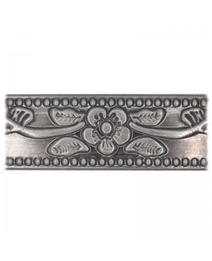 Bracelet cuivre magnétique 6 aimants couleur argent