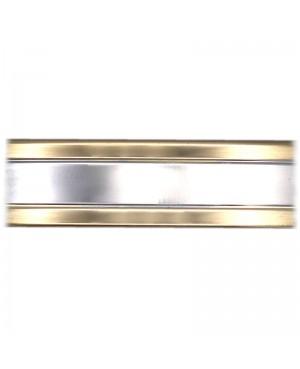 Bracelet magnétique cuivre couleur or et argent