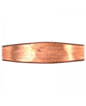 Bracelet en pur cuivre massif - fabriqué à la main - Clématite