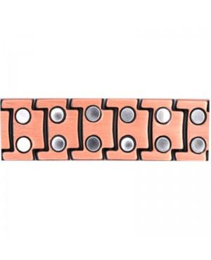 Bracelet magnétique cuivre avec 46 puissants amants - Airain