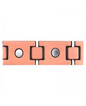 Bracelet magnétique carbone cuivre contre l'arthrose - Athémis