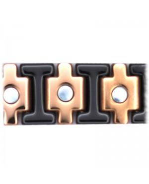 Bracelet magnétique céramique noire - Athéna