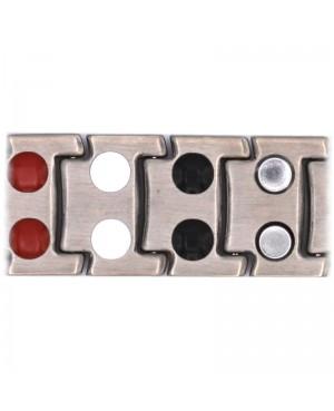 Bracelet magnétique et bio-éléments ioniques en titane - Autem