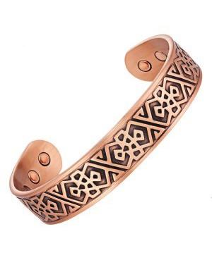 Bracelet magnétique cuivre - Épinette avec 6 puissants aimants