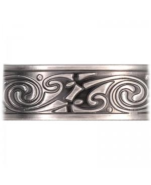 Bracelet avec aimants cuivre couleur argent - Vortex