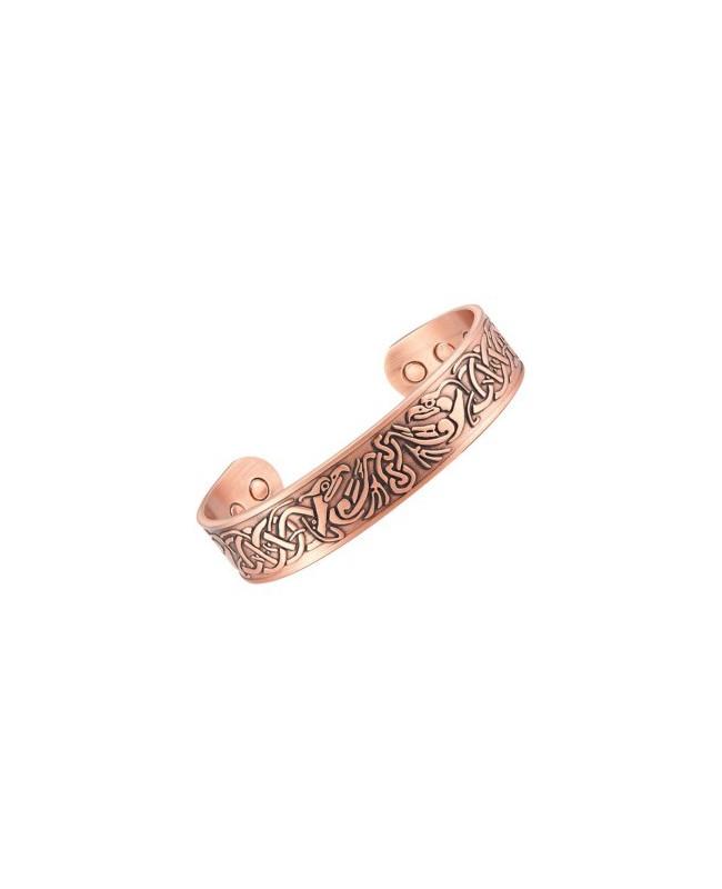 Bracelet avec aimants cuivre - Iris pour l'arthrose et l'arthrite