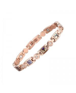 Bracelet magnétique acier inoxydable avec aimants - Labradoria