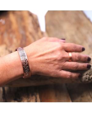 Bracelet avec aimants en cuivre au style ethnique