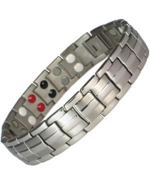 Bracelet magnétique titane et bio-éléments ioniques - Autem