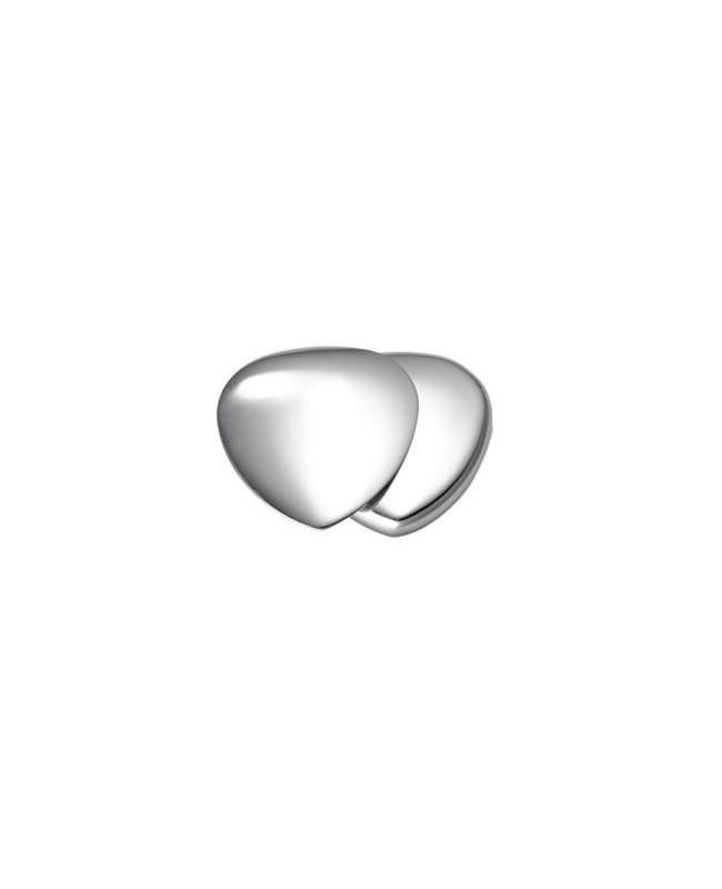 Cœur magnétique avec aimant puissant 3000 gauss inox-inox - Fleur de vie