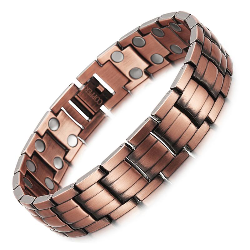 tout neuf 2a584 7da80 Bracelet Magnétique Cuivre Puissant Homme